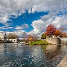 The Old Mill and the Locks by PhotosByHealy