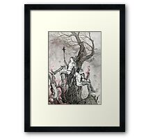 The World Lies in Ashes  Framed Print