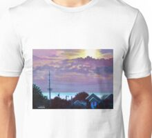 'Sunset over Pamlico Sound' Unisex T-Shirt