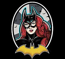 Batgirl by jjlockhART