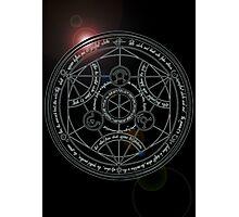 Fullmetal Alchemist transmutation circle Photographic Print