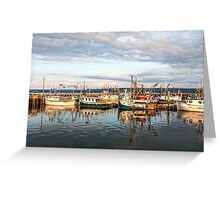 Digby Harbour Greeting Card