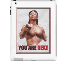 Chong Li - You are NEXT! iPad Case/Skin
