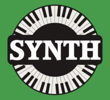 Synth Keyboard Baby Tee