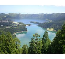 Lake of Seven Cities Azores Photographic Print