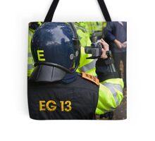 Cops. Camera. Action! Tote Bag