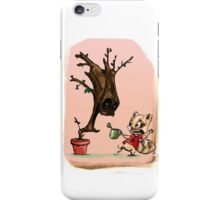 Cute Rocket and Groot iPhone Case/Skin