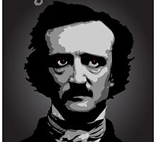 Author Edgar Allan Poe by William Fehr