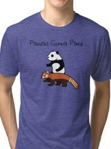 Pandas and Red Pandas Gonna Pand Tri-blend T-Shirt
