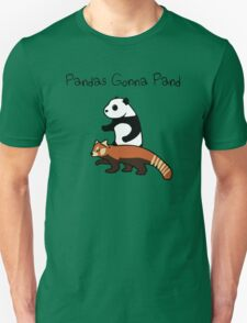 Pandas and Red Pandas Gonna Pand Unisex T-Shirt