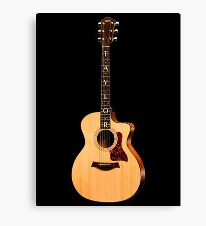 Wonderful Taylor Acoustic Guitar  Canvas Print