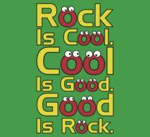 Rock Is Cool  Kids Tee