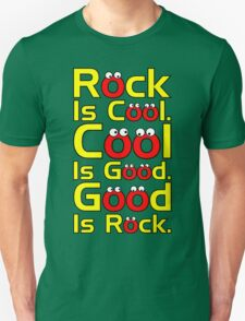 Rock Is Cool  T-Shirt