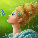 Magic butterflies by Alena Lazareva