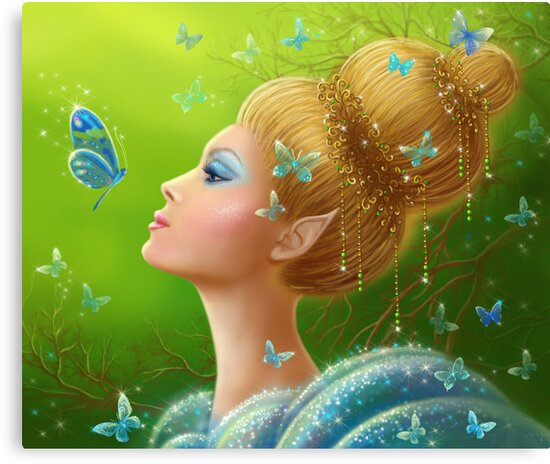 Magic butterflies by Alena Lazareva