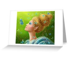 Magic butterflies Greeting Card