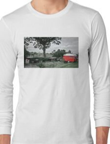 Red Camper Long Sleeve T-Shirt