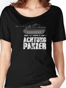 ACHTUNG PANZER - TIGER TANK Women's Relaxed Fit T-Shirt