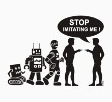 Funny robot evolution by NewSignCreation