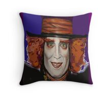 Buoyant Mad Hatter 2 Throw Pillow