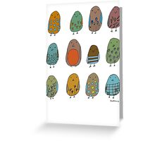 assorted birds Greeting Card