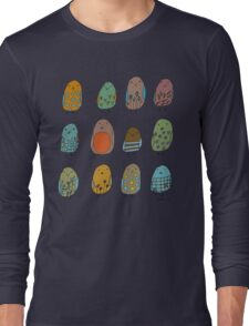 assorted birds Long Sleeve T-Shirt
