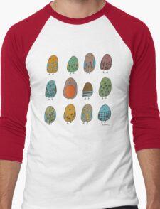 assorted birds Men's Baseball ¾ T-Shirt