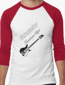 Rickenbacker American Style  Men's Baseball ¾ T-Shirt