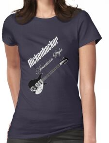 Rickenbacker American Style  Womens Fitted T-Shirt