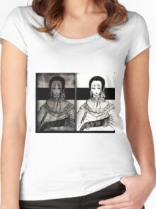Dolly doll doll 2 Women's Fitted Scoop T-Shirt