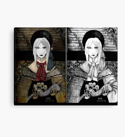Dolly doll doll Canvas Print