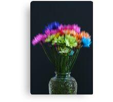Lensbaby Bouquet Canvas Print