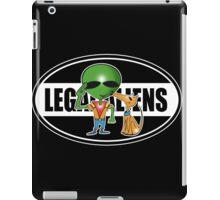 legal aliens salute iPad Case/Skin