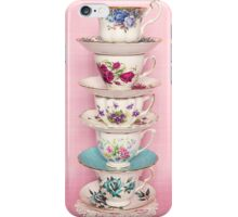 Fancy a cup of tea or two or three? iPhone Case/Skin