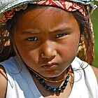 Nepali girl (III) by Konstantinos Arvanitopoulos