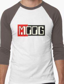 Vintage Moog  Synth Men's Baseball ¾ T-Shirt