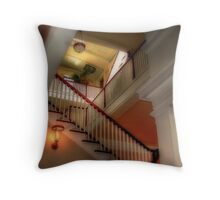 Watch Your Step!! Throw Pillow