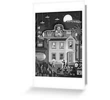 Scene #17: 'Visitors From Outer Space' Greeting Card