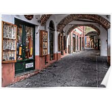 Camogli shopping Poster