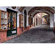 Camogli shopping Photographic Print