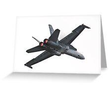 F/A-18 Greeting Card