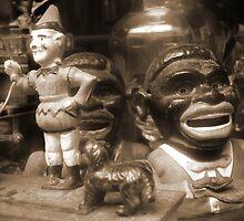 Forgotten Toys, Dusty Seaside Toy Shop by Trouser