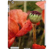 ... and red grow the poppies ... iPad Case/Skin