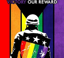 Rainbow Soldier (Love is Our Strength) by Jesse Armine