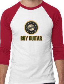 Buy Guitar (knb) Men's Baseball ¾ T-Shirt