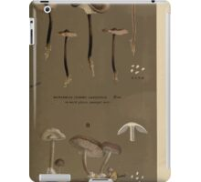 Illustrations of British Fungi by Mordecai Cubitt Cook 1891 V7 0635 MARASMIUS  TERGINI  FUSCO PURPUREUS iPad Case/Skin