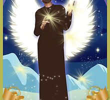 Archangel Azrael by angelguided