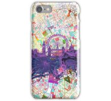 London skyline abstract iPhone Case/Skin