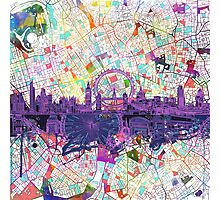 London skyline abstract Photographic Print