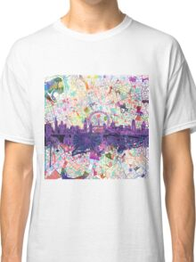 London skyline abstract Classic T-Shirt